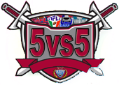 LOGO 5VS5 + LEAGUE icona
