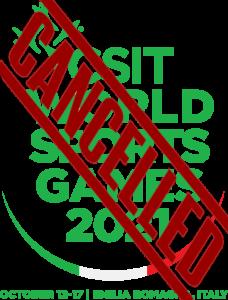 CSIT WorldSportsGames 2021 CANCELLED