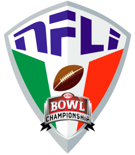 NATIONAL FOOTBALL LEAGUE ITALY - NFLI - IAAFL  BOWL CHAMPIONSHIP